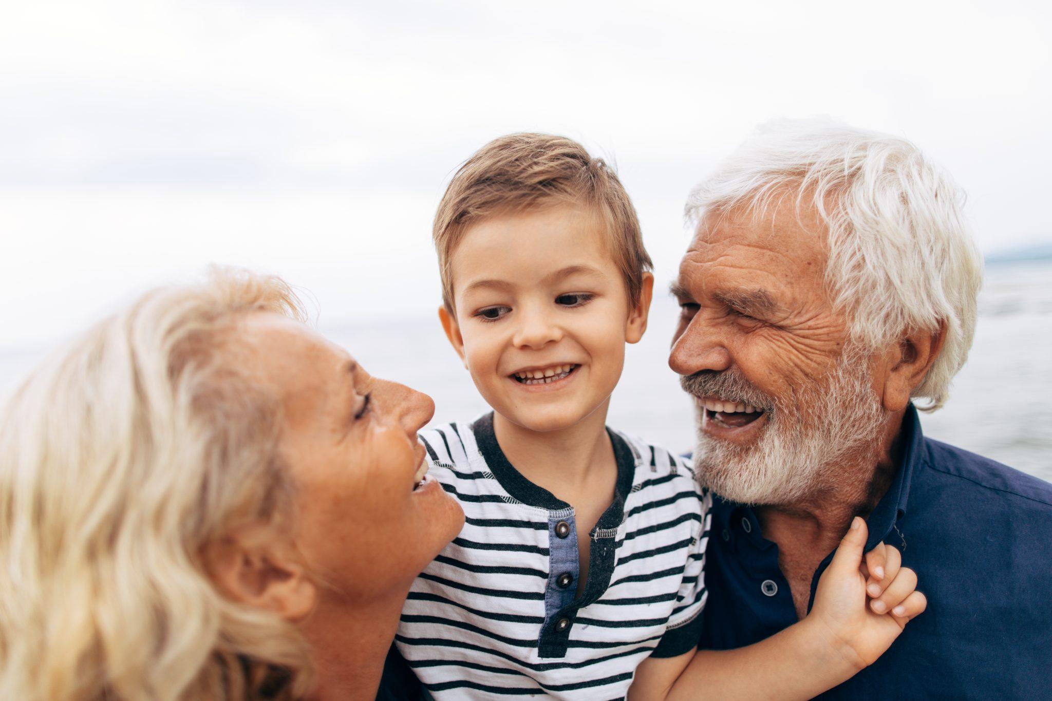 Família Avós e Neto