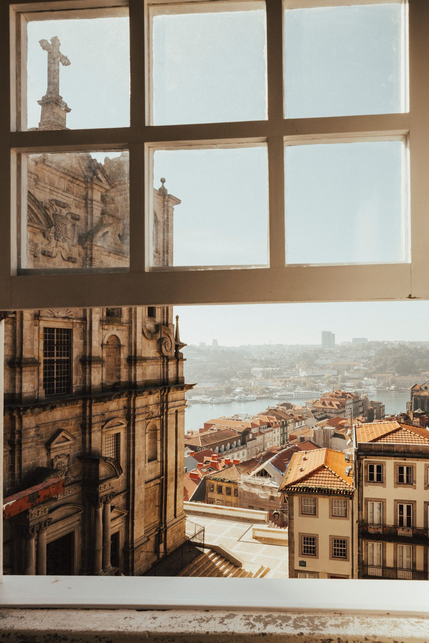 Vista de uma janela