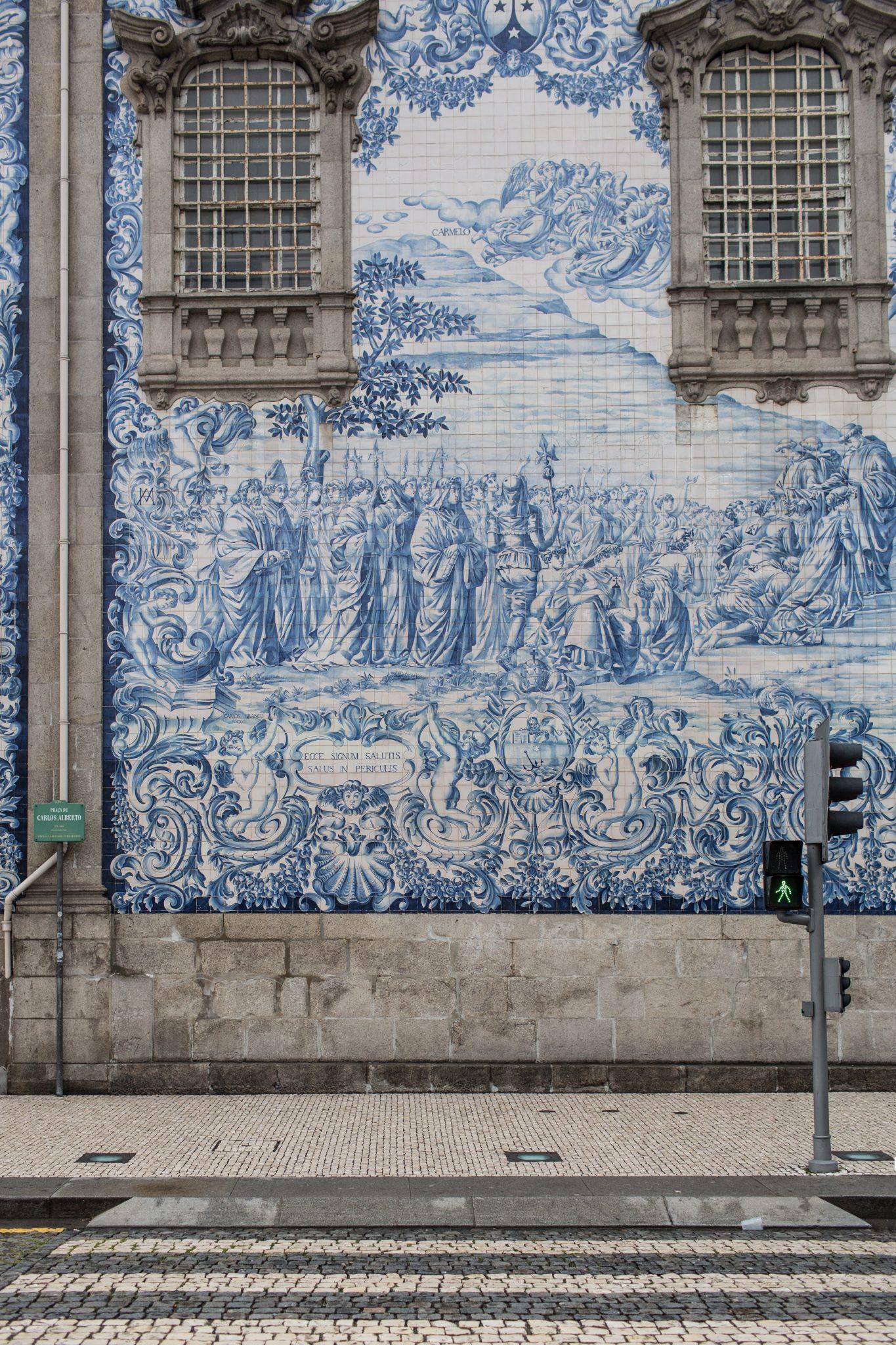 Painel de Azulejos Porto