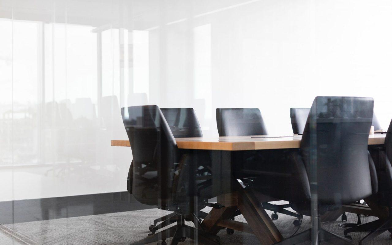 Sala de Reuniões Vidro
