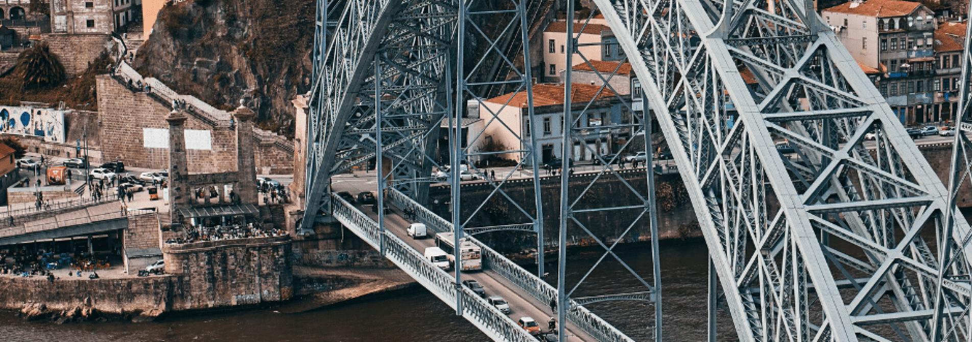 Carros na Ponte D.Luís
