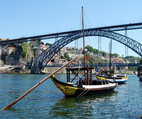 Barcos Rebelo no Douro