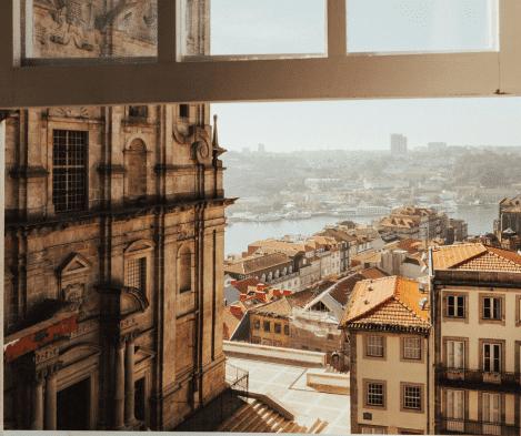 Vista do Porto da janela