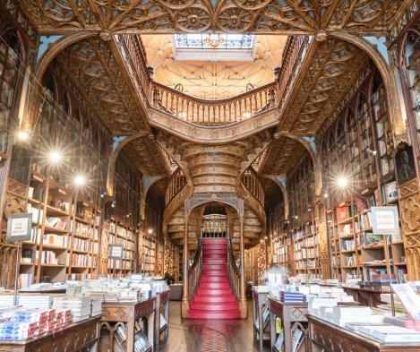 Livraria Irmãos Lello no Porto