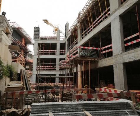 fase de construção neya porto hotel