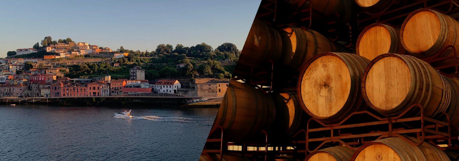vista rio e vinho